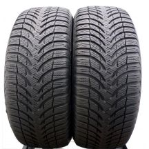 2 x MICHELIN 195/55 R15 85H 6.3mm Alpin A4 Zima