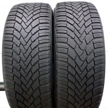 2 x CONTINENTAL 205/55 R16 91H 5,4-6mm Winter Contact Ts850 Zima