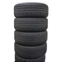 4 x PIRELLI 225/45 R18 95V XL 5,4-6mm Bmw Run Flat SW 240 Serie II Zima DOT16