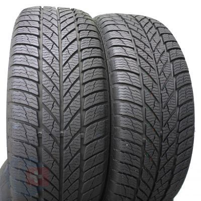 2. 2 x GISLAVED 205/55 R16 Euro Frost 5 91H 6,8mm Zima