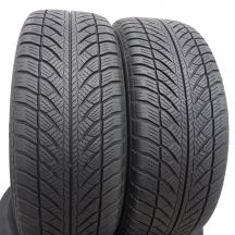 2 szt. Opony Goodyear 225/55 R17 Zima UltraGrip Performance 2 *Bmw 97H 6,2mm!
