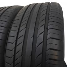 4. 2 szt. Opony Continental 235/50 R18 Lato ContiSportContact 5 MGT 97Y 7mm!