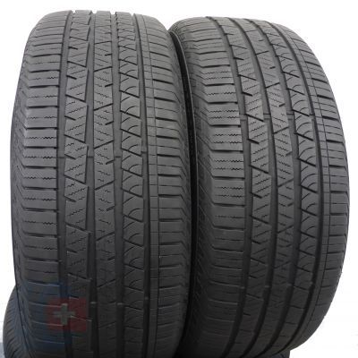 2 szt. Opony Continental 235/55 R19 Wielosezon CrossContact LX Sport 105V 6mm!