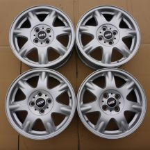 4 x Alufelgi 15 MINI 4x100 5,5J Et45 Clubman Germany