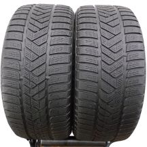 2 x PIRELLI 245/40 R18 97V XL 5mm Winter Sottozero 3 Zima DOT15