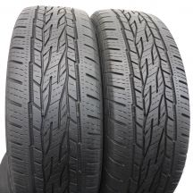 2 szt. Opony Continental 215/65 R16 Wielosezon ContiCrossContact LX2 98H 6,8mm!