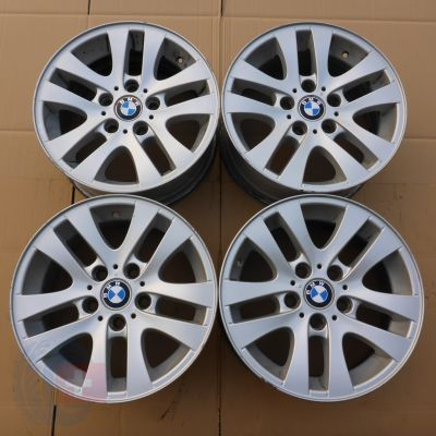4 x Alufelgi 16 BMW 5x120 7J Et34 Original Germany