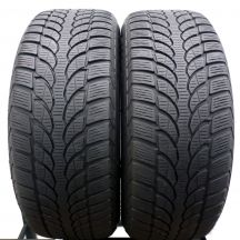 2 x BRIDGESTONE 225/55 R17 97H 6.2mm Blizzak LM-32 RUN FLAT Zima