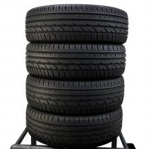 4 x CONTINENTAL 215/55 R18 99V XL 7-8mm Premium Contact 2e Lato