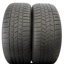 2 x CONTINENTAL 255/50 R20 109V XL 6mm CrossContact Winter Zima DOT14