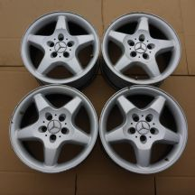 4 x Alufelgi 17 MERCEDES 5x112 8,5J Et52 ML Original USA