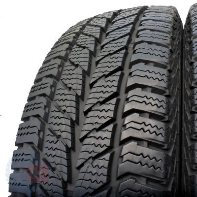3. 2x UNIROYAL 205/65 R16 C Snow Max 2 107/105T 9mm ! Zima