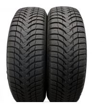 2 x MICHELIN 175/65 R15 84T 7mm Alpin A4 Zima DOT18 Jak Nowe