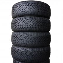 4 x CONTINENTAL 205/55 R16 91H 6,2mm Ts850 Zima
