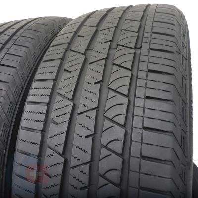 4. 2 szt. Opony Continental 235/55 R19 Wielosezon CrossContact LX Sport 105V 6mm!