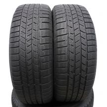 2 szt. Opony Continental 235/55 R19 Zima CrossContact Winter A0 101H 6mm!