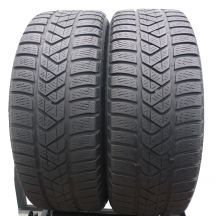 2 x PIRELLI 205/40 R18 86V XL 5mm Sottozero 3 Run Flat Zima DOT17