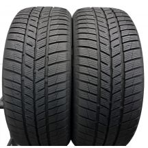 2 x BARUM 225/50 R17 98H XL 7.2mm Polaris 5 Zima DOT18 Jak Nowe