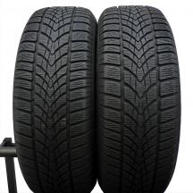 2 x DUNLOP 235/60 R18 107H XL 6,7mm Winter Sport 4D Zima