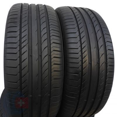2. 2 szt. Opony Continental 235/50 R18 Lato ContiSportContact 5 MGT 97Y 7mm!