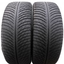 2 x MICHELIN 225/45 R19 96V XL 6mm Pilot Alpin 5 Zima DOT18