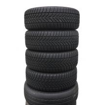 4 x DUNLOP 205/55 R16 91H 6,5-7mm Sp Winter Sport 4D Zima DOT13