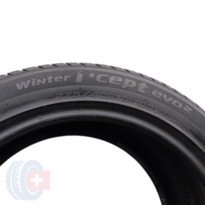 5. 2 x HANKOOK 275/40 R18 103V XL 6mm Winter I Cept EVO 2 Zima DOT19