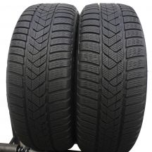 2 x PIRELLI 225/50 R18 95H 6mm Winter Sottozero 3 RUN FLAT Zima