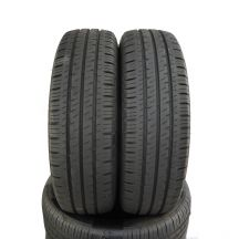 2 x HANKOOK 215/80 R14C 112/110Q 8mm Vantra LT Lato DOT15