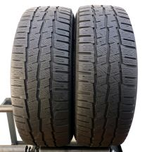 2 x MICHELIN 215/60 R17C 109-107T 6-7mm Aglis Alpin Zima DOT13