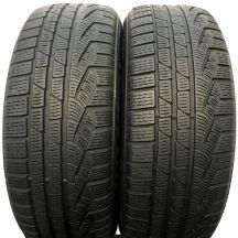 2 x PIRELLI 225/55 R17 97H 6,2mm SW 210 Serie II Run Flat Zima DOT15/14