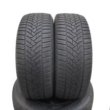 2 x DUNLOP 205/55 R16 91H 5mm Winter Sport 5 Zima DOT18