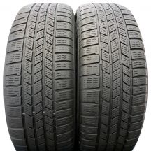 2x CONTINENTAL 235/55 R19 CrosContctWinter 101H A0 6.2mm ! Zima