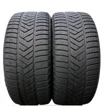 2 x PIRELLI 245/40 R18 97V XL A0 5.2mm Winter Sottozero 3 Zima