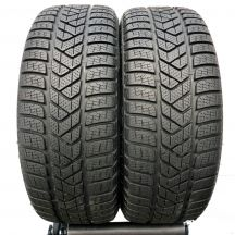 2 x PIRELLI 205/40 R18 86V XL 7.2mm Winter Sottozero 3 Zima DOT18