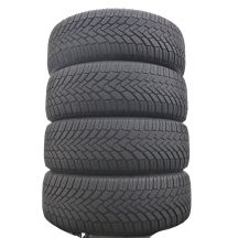 4 x CONTINENTAL 205/55 R16 91H 5,5-6mm WinterContact Ts850 Zima DOT16/15