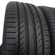 3. 2 szt. Opony Continental 235/50 R18 Lato ContiSportContact 5 MGT 97Y 7mm!