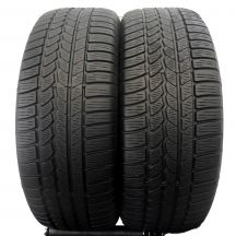 2 x CONTINENTAL 265/60 R18 110H M0 6.2-7mm 4x4 Winter Contact Zima