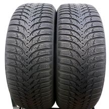 2 x KUMHO 205/55 R16 91H 5,5-6mm Wintercraft WP51 Zima DOT16