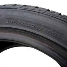 6. 2x GOODYEAR 245/45 R17 Ultra Grip 99V XL 7mm ! Zima