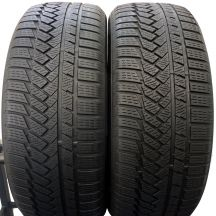 2 x CONTINENTAL 235/55 R18 100H 6,2mm WinterContact Ts850P Zima DOT16