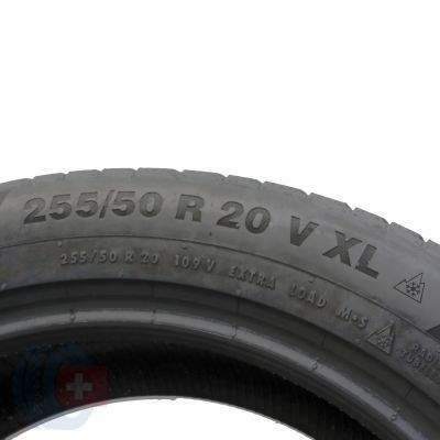 6. 2 x CONTINENTAL 255/55 R20 109V XL 6.8mm WinterContact Ts 850 P Zima
