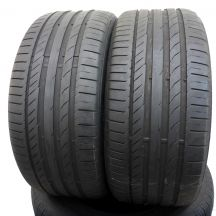 2 x CONTINENTAL 245/40 R18 Sport Contact 5 93Y Lato