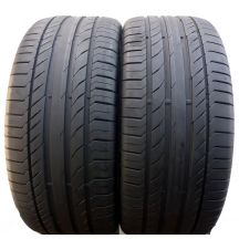 2 x CONTINENTAL 275/45 R20 110V XL 6.3mm ContiSportContact 5 Lato