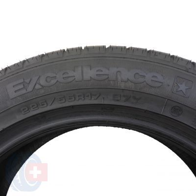 6. 2 szt. Opony Goodyear 225/55 R17 Lato Excellence *Bmw Rsc Run Flat 97Y 7mm!