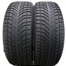 2 x MICHELIN 235/55 R19 101H A0 6mm Latitude Alpin LA2 Zima