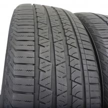 3. 2 szt. Opony Continental 235/55 R19 Wielosezon CrossContact LX Sport 105V 6mm!