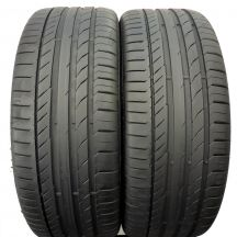 2 x CONTINENTAL 225/45 R18 95Y XL 6mm ContiSportContact 5 Lato