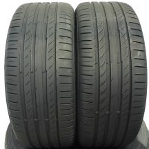 2 x CONTINENTAL 225/40 R18 92Y XL 5mm ContiSportContact 5 Lato