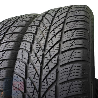 3. 2 x GISLAVED 205/55 R16 Euro Frost 5 91H 6,8mm Zima